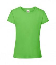 Image 3 of Fruit of the Loom Girls Sofspun® T-Shirt