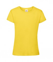 Image 11 of Fruit of the Loom Girls Sofspun® T-Shirt