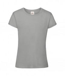 Image 12 of Fruit of the Loom Girls Sofspun® T-Shirt