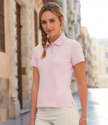 Fruit of the Loom Lady Fit Cotton Piqué Polo Shirt image