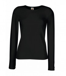 Fruit of the Loom Lady Fit Long Sleeve T-Shirt image