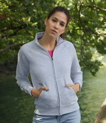 Fruit of the Loom Premium Lady Fit Sweat Jacket image