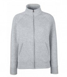 Image 4 of Fruit of the Loom Premium Lady Fit Sweat Jacket