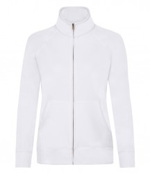 Image 5 of Fruit of the Loom Premium Lady Fit Sweat Jacket