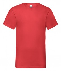 Image 11 of Fruit of the Loom V Neck Value T-Shirt