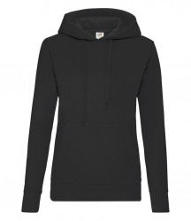 Image 3 of Fruit of the Loom Classic Lady Fit Hooded Sweatshirt