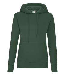 Image 4 of Fruit of the Loom Classic Lady Fit Hooded Sweatshirt