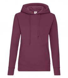 Image 5 of Fruit of the Loom Classic Lady Fit Hooded Sweatshirt