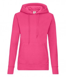 Image 8 of Fruit of the Loom Classic Lady Fit Hooded Sweatshirt