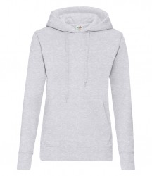 Image 9 of Fruit of the Loom Classic Lady Fit Hooded Sweatshirt