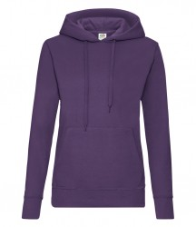 Image 17 of Fruit of the Loom Classic Lady Fit Hooded Sweatshirt