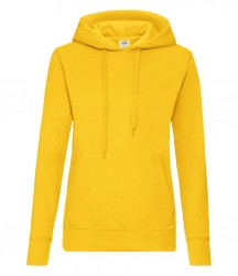 Image 21 of Fruit of the Loom Classic Lady Fit Hooded Sweatshirt