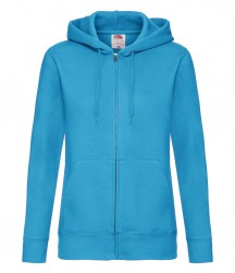 Image 2 of Fruit of the Loom Premium Lady Fit Zip Hooded Jacket