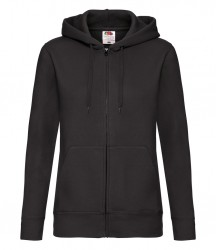 Image 3 of Fruit of the Loom Premium Lady Fit Zip Hooded Jacket