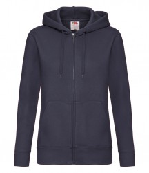 Image 4 of Fruit of the Loom Premium Lady Fit Zip Hooded Jacket