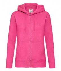 Image 5 of Fruit of the Loom Premium Lady Fit Zip Hooded Jacket