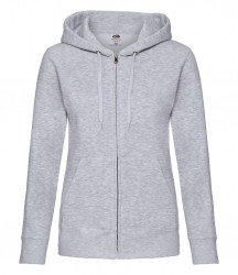 Image 6 of Fruit of the Loom Premium Lady Fit Zip Hooded Jacket