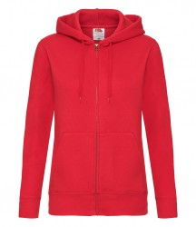 Image 7 of Fruit of the Loom Premium Lady Fit Zip Hooded Jacket