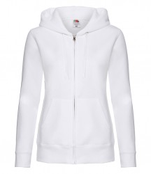 Image 8 of Fruit of the Loom Premium Lady Fit Zip Hooded Jacket