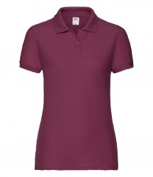 Image 7 of Fruit of the Loom Lady Fit Piqué Polo Shirt