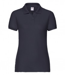 Image 4 of Fruit of the Loom Lady Fit Piqué Polo Shirt
