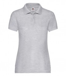 Image 10 of Fruit of the Loom Lady Fit Piqué Polo Shirt
