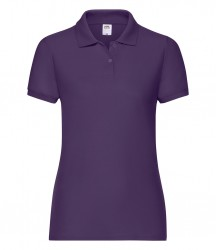 Image 13 of Fruit of the Loom Lady Fit Piqué Polo Shirt