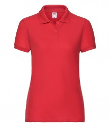 Image 14 of Fruit of the Loom Lady Fit Piqué Polo Shirt