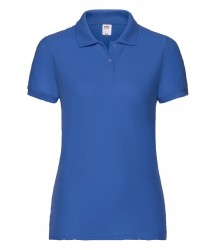 Image 3 of Fruit of the Loom Lady Fit Piqué Polo Shirt