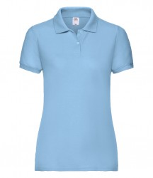 Image 11 of Fruit of the Loom Lady Fit Piqué Polo Shirt
