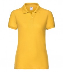 Image 12 of Fruit of the Loom Lady Fit Piqué Polo Shirt