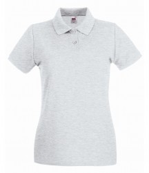 Fruit of the Loom Lady-Fit Premium Cotton Piqué Polo Shirt image