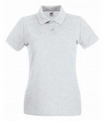 Fruit of the Loom Lady-Fit Premium Cotton Piqué Polo Shirt image