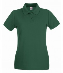 Image 7 of Fruit of the Loom Lady-Fit Premium Cotton Piqué Polo Shirt