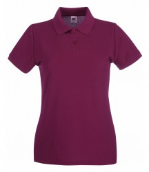 Image 6 of Fruit of the Loom Lady-Fit Premium Cotton Piqué Polo Shirt