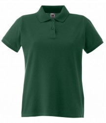 Image 3 of Fruit of the Loom Lady-Fit Premium Cotton Piqué Polo Shirt