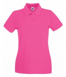 Image 23 of Fruit of the Loom Lady-Fit Premium Cotton Piqué Polo Shirt
