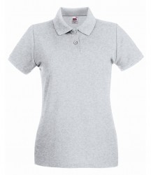 Image 10 of Fruit of the Loom Lady-Fit Premium Cotton Piqué Polo Shirt