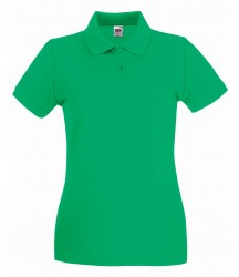 Image 15 of Fruit of the Loom Lady-Fit Premium Cotton Piqué Polo Shirt