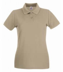 Image 18 of Fruit of the Loom Lady-Fit Premium Cotton Piqué Polo Shirt