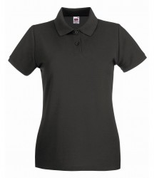 Image 19 of Fruit of the Loom Lady-Fit Premium Cotton Piqué Polo Shirt