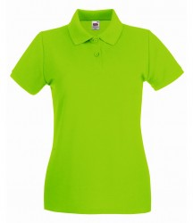 Image 21 of Fruit of the Loom Lady-Fit Premium Cotton Piqué Polo Shirt
