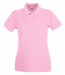 Image 12 of Fruit of the Loom Lady-Fit Premium Cotton Piqué Polo Shirt