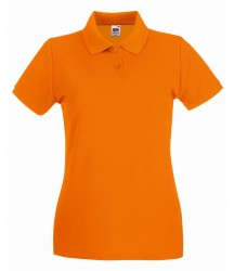 Image 13 of Fruit of the Loom Lady-Fit Premium Cotton Piqué Polo Shirt