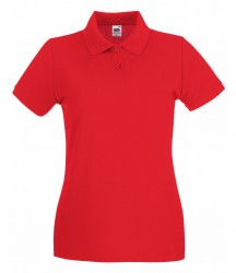 Image 17 of Fruit of the Loom Lady-Fit Premium Cotton Piqué Polo Shirt