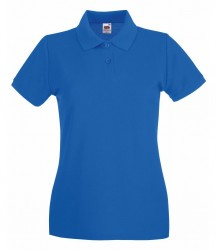 Image 20 of Fruit of the Loom Lady-Fit Premium Cotton Piqué Polo Shirt