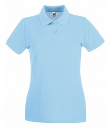 Image 22 of Fruit of the Loom Lady-Fit Premium Cotton Piqué Polo Shirt