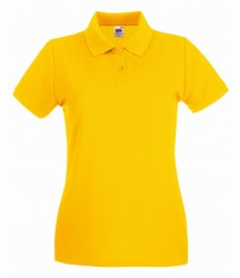 Image 24 of Fruit of the Loom Lady-Fit Premium Cotton Piqué Polo Shirt
