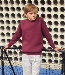 Fruit of the Loom Kids Classic Raglan Sweatshirt image
