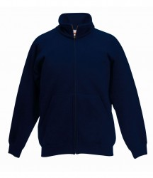 Image 4 of Fruit of the Loom Kids Classic Sweat Jacket